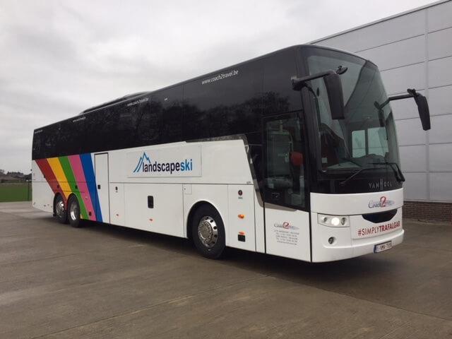 Van Hool bus Coach2Travel